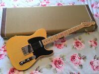 Fender 52 Telecaster American Vintage Reissue Electric Guitar. USA Stratocaster 56 57 58 59 62 64 65