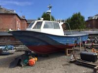 Offshore 27 fishing boat 370hp NEF N60 Iveco 22knots diesel