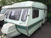 Elddis hurricane gt 1992 2 berth touring caravan