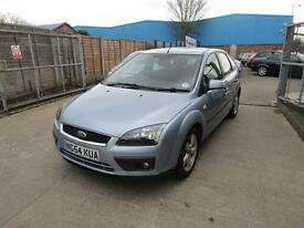 Ford Focus Zetec Climate 5dr (blue) 2005