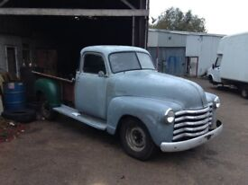 CHEVY PICKUP 1949 PROJECT