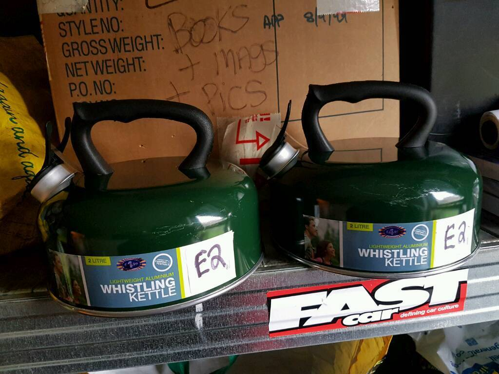 New camping wis kettles