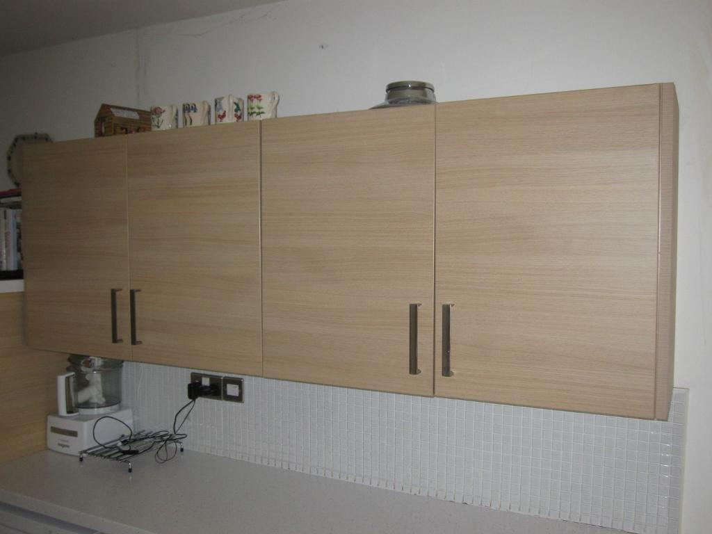 homebase kitchen units with brushed stainless steel