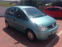 Vauxhall Meriva 55000 miles no mot Cheap px!!