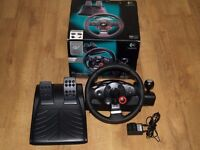 Logitech Driving Force Gt Steering Wheel PC and PS3