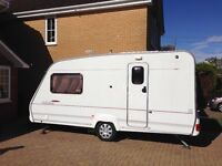CARAVAN ACE JUBILEE AMBASSADOR 2 BERTH 2003 COME WITH 3 AWNINGS AND NEW MOTOR MOVER