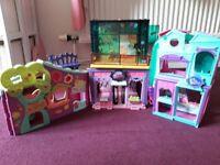 littlest pet shop houses