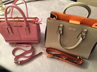 Two River Island handbags