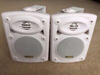 2 X Skytec 20w Speakers With Brackets