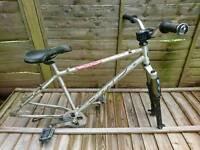 DMR Trailstar Jump Bike Frame 24 Seven Bar Stem Grips & Marzocchi Fork