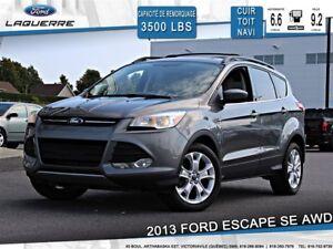 2013 Ford Escape SE**AWD*CUIR*GPS*TOIT*BLUETOOTH**