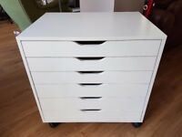 Ikea ALEX drawer unit, great used condition, great for home office, crafts, £99 new