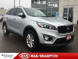 2016 Kia Sorento LX NON RENTAL LOW KM'S BLUEOOTH ALLOYS WOW!!
