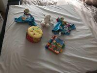 Babydan playmat and toys