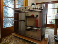 Stoves Sterling R1000GT, Stainless Steel, Range Gas Cooker - RESERVED Awaiting collection
