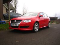 Rare VW Passat R Line 140, factory fitted skirts, great looking car, FSH, 8 months mot, 56mpg