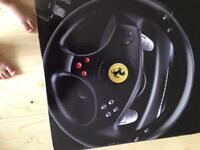 Ferrari GT experience Racing wheel