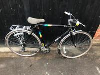"Gents Falcon Super Tourist 21"" Frame Hybrid/Town Bike. Serviced, Free Lock, Lights, Delivery"