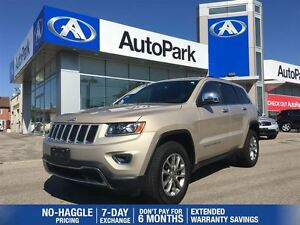 2015 Jeep Grand Cherokee Limited/BLUETOOTH/HEATED SEATS/LEATHER/