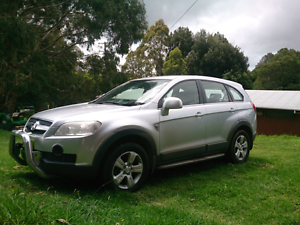 2008 Holden Captiva Armidale Armidale City Preview