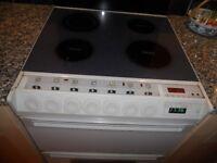 Creda Concept Solar Plus electric cooker with solar plus grill and ceramic hob