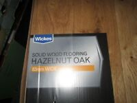 BARGAIN - Wickes Hazelnut Oak solid wood flooring 4 boxes