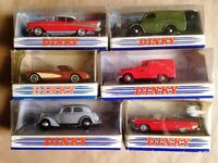6 x DINKY COLLECTION MODELS UNMARKED & BOXED, FREE U.K. POSTAGE