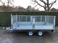 Ifor Williams lm126 3.5 tonne caged sided trailer