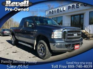 2005 Ford F-250 XLT 4X4  *1-owner AS TRADED 6.0 Diesel