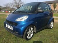 SMART FORTWO 1.0 PULSE COUPE (57PLATE) PETROL, 1PREVIOUS OWNER, SERVICE HISTORY, £30 ROAD TAX/YEAR