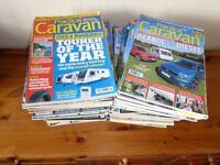 72 issues of Practical Caravan magazines 2014 - present
