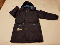 Brand New Boys Long Down Jacket / Coat - 9-10 years old