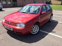 VW Volkswagen Golf V5 in superb original condition with FSH