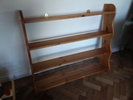 Pine large shelves