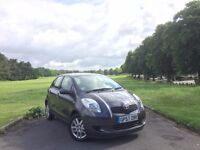 2008/57 TOYOTA YARIS 1.3 VVTI TR, MANUAL, 5-DOOR**GENUINE LOW 47,000 MILES WITH FULL SERVICE HISTORY