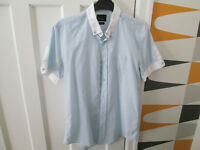 MEN'S ON-TREND SHIRTS - SIZE S & M - RIVER ISLAND/TOPMAN/H&M x2 - VGC