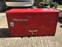 Snap on tool box . Snapon