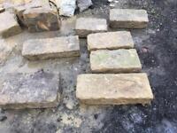 Sandstone quoins
