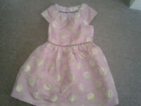Boden party dress 4 to 5