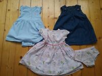 Baby girl summer outfits clothing bundle 6-9months dresses, shorts, t shirts in excellent condition!