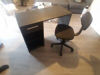 Desk + chair in good condition, £15, collection only