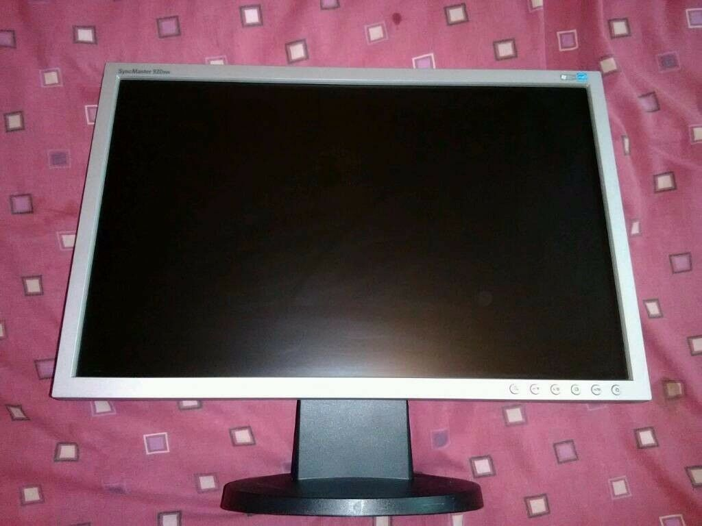 "SAMSUNG 19"" WIDESCREEN LCD MONITOR FOR PC, COMPUTER MONITOR"