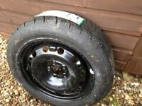 SPARE WHEEL 195/55R15 FIT SKODA FABIA/ROOMSTER/FIESTA/VW POLO/AND MANY OTHER MAKES/MODELS.