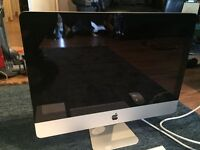 Apple iMac 10.1 with 21.5 screen Core 2 Duo 3.06 GHz 4GB RAM 500Gb HD OS X VGC with Keys mouse discs