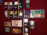 Rare betamax tapes selection