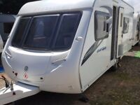2010 Sterling Europa 550 Fixed Bed End Washroom Caravan