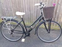 ladies refurbished town bike