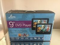Lava 9 inch Dual Screen in Car DVD Player - only 65