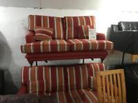 Quality fabric 3 and 2 sofas