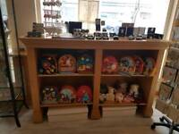 Solid Wood Shop Display Unit